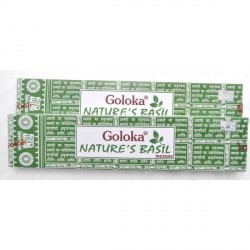Incienso Nature's Basil Goloka. 15g