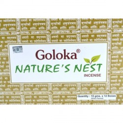 Incienso Nature's Nest Goloka. 15g