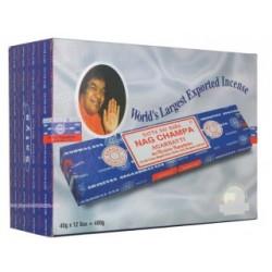 Pack 12 cajas de incienso Satya Nag Champa 15g