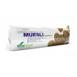 Galletas integrales con muesli 165 gr Soria Natural