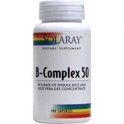 Vitaminas B-Complex 50 cápsulas Solaray
