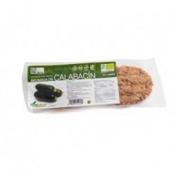 Hamburguesa ahumada calabacin vegana Bio 2u. Soria Natural