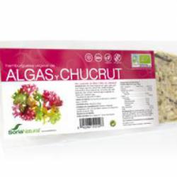 Hamburguesa algas chucrut vegano Bio 2u. Soria Natural