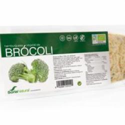 Hamburguesa ahumada brocoli vegana Bio 2u. Soria Natural