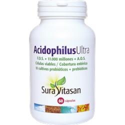 Acidophilus ultra probioticos + prebioticos 30 capsulas Sura Vitasan