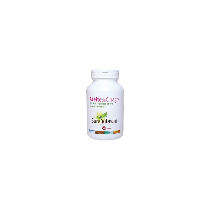 Aceite de Onagra 540 perlas Sura Vitasan