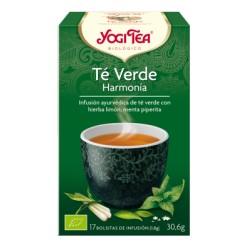 Yogi Tea Té verde Harmonía BIO 17 bolsitas