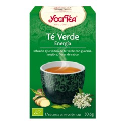 Yogi tea Té verde Energía BIO 17 bolsitas