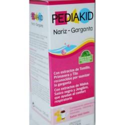 Jarabe nariz garganta Pediakid 125 ml