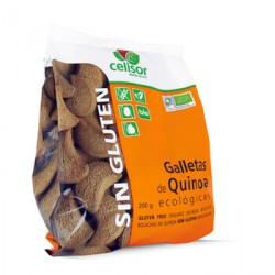 Galletas de quinoa sin gluten Bio 200 gr Soria Natural