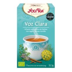 Yogi tea Voz Clara Bio 17 Bolsitas