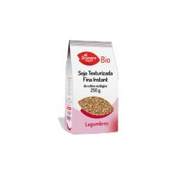 Soja texturizada fina instant 250 gr Bio El Granero Integral