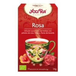 Yogi tea Rosa Bio 17 Bolsitas