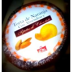 Torta de Naranja con almendras y chocolate 200 g Itac