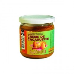 Crema de Cacahuetes Bio 330 gr Monki