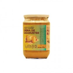 Crema de Cacahuetes Bio 650 gr Monki