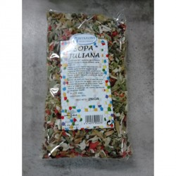 Sopa juliana de verduras 250 g Intracma