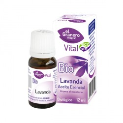 Aceite esencial Lavanda 12ml Bio El Granero