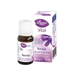 Aceite esencial Naranja Bio 12 ml El Granero