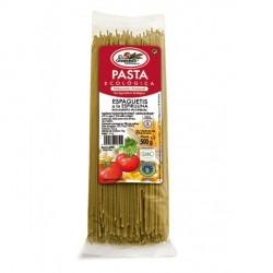 Espaguetis a la espirulina bio 500g El Granero